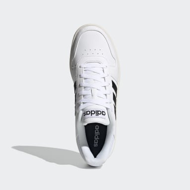 Sapatos Hoops 2.0 Branco Walking