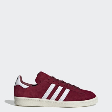 Zapatilla Campus 80s Burgundy Originals