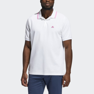 Polo Go-To Primegreen Pique Bianco Uomo Golf