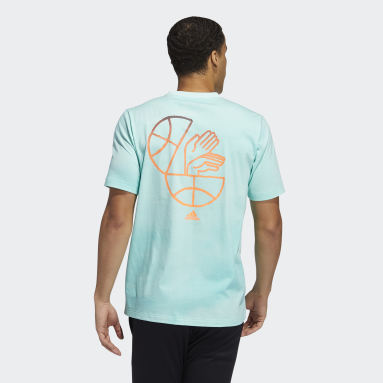 Men's Basketball Turquoise FTC Wash Tee