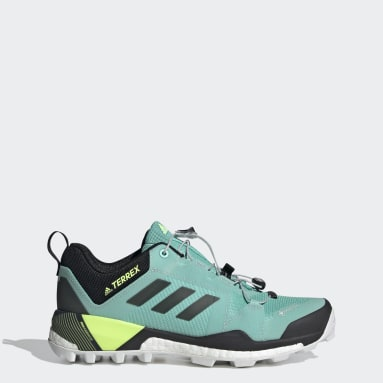 Women TERREX Green Terrex Skychaser XT GORE-TEX Hiking Shoes