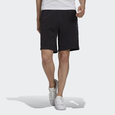 Men's Originals Black R.Y.V. Abstract Trefoil Shorts