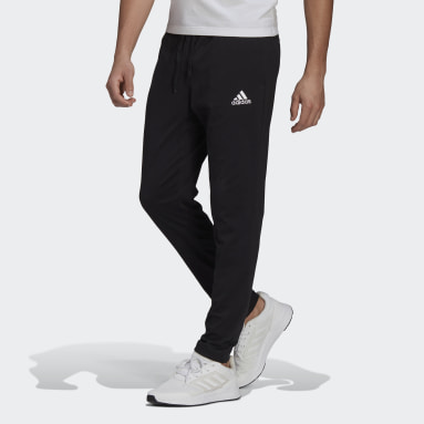 Heren Sportswear Zwart Essentials Tapered Broek
