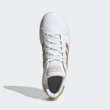Kids Essentials White Grand Court Shoes