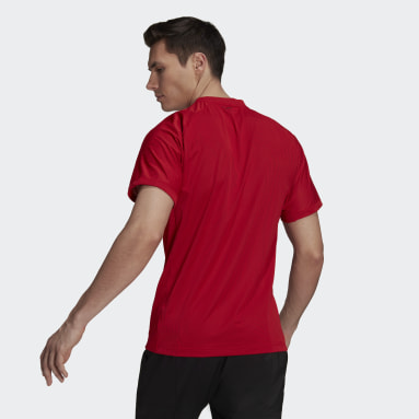 Men's Tennis Red Tennis Primeblue Freelift Tee