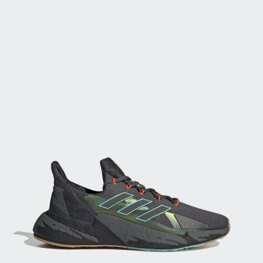 Men Running Grey X9000L4 CNY Shoes