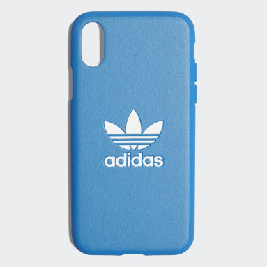 Originals Blue Basic Logo Case iPhone X