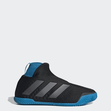 Women Tennis Black Stycon Shoes