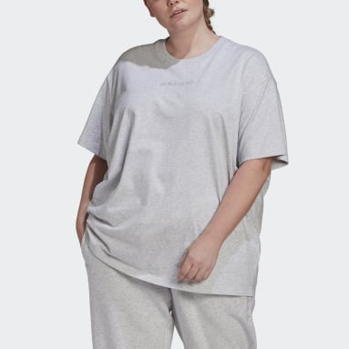T-shirt Oversize Grigio Donna Originals