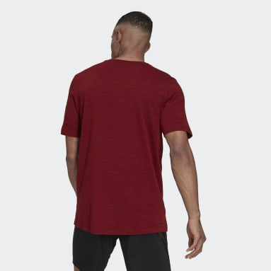 T-shirt City Elevated Rouge Hommes Fitness Et Training