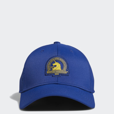 Men's Training Blue Boston Marathon® Stadium Stretch Fit Hat