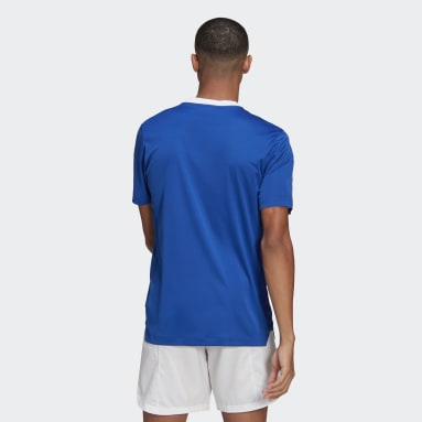 Men Soccer Blue Tiro 21 Training Jersey