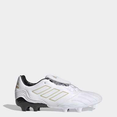 Soccer White Copa Kapitan.2 Firm Ground Cleats