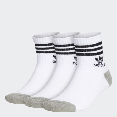 Originals Multicolor Roller High Quarter Socks 3 Pairs