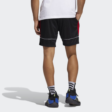 Men Basketball Black Harden Abstraction Shorts