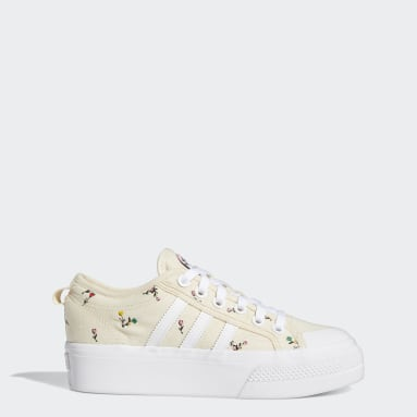 Nizza Platform Shoes Bialy