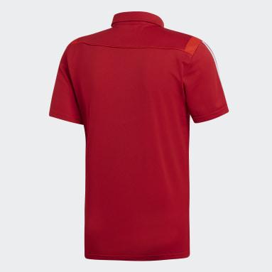 Men Football Red Tiro 19 Clima Polo Shirt
