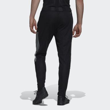 Men Football Black Tiro Reflective Track Pants