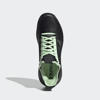 Women's Tennis Black Adizero Defiant Bounce 2 Shoes