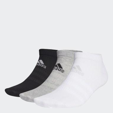 Cvičení A Trénink šedá Ponožky Low-Cut – 3 páry