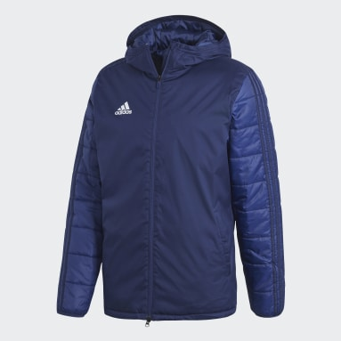 Men Outdoor Blue Winter Jacket 18