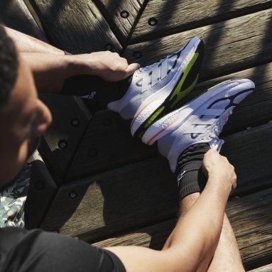 Sapatos Supernova+ Cinzento Running