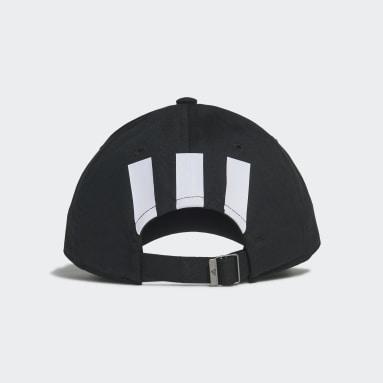 ไลฟ์สไตล์ สีดำ หมวกแก๊ป Essentials 3-Stripes