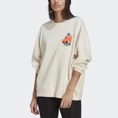 Women Originals White Adicolor Essentials x Egle Sweater