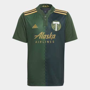 Youth Soccer Green Portland Timbers 21/22 Home Jersey