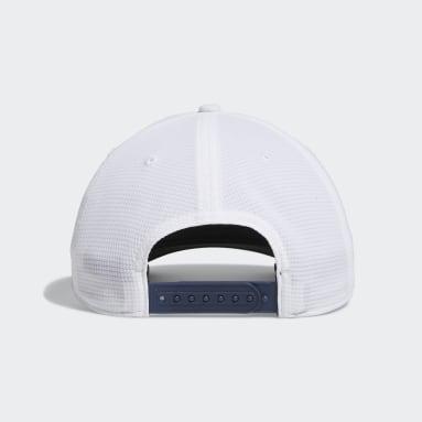 Men Golf White Circle Patch Snapback Cap
