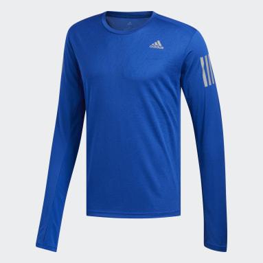 T-shirt Own the Run Bleu Hommes Running