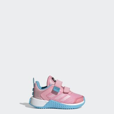 Infants วิ่ง สีชมพู รองเท้ากีฬา adidas x Classic LEGO®