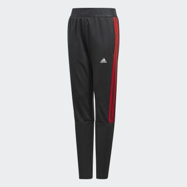 Boys Gym & Training Grey Tiro Pants