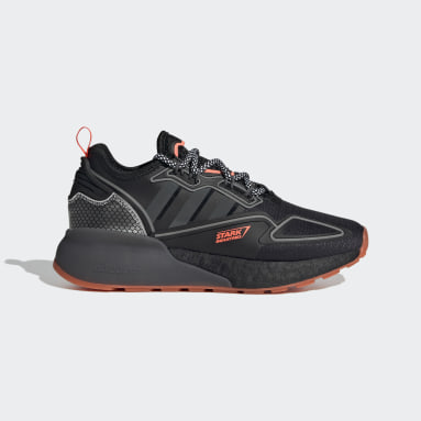 Zapatillas ZX 2K Boost Marvel Negro Niño Originals