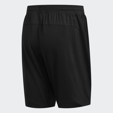 Men Training Black 4KRFT Sport Badge of Sport Shorts