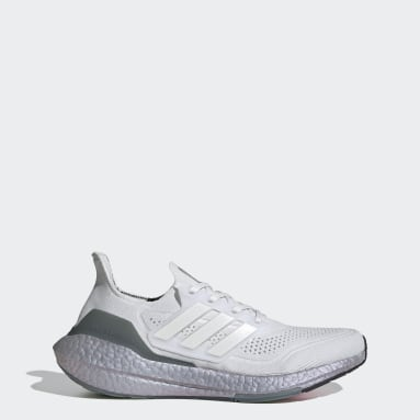 Scarpe Ultraboost 21 Bianco Running