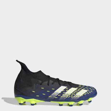 Men's Soccer Black Predator Freak.3 Multi-Ground Cleats