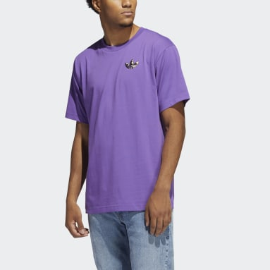 T-shirt Still Life Summer Short Sleeve Violet Hommes Originals
