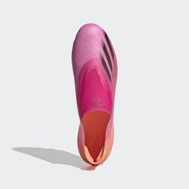 Botas de Futebol X Ghosted+ – Relva artificial Rosa Homem Futebol