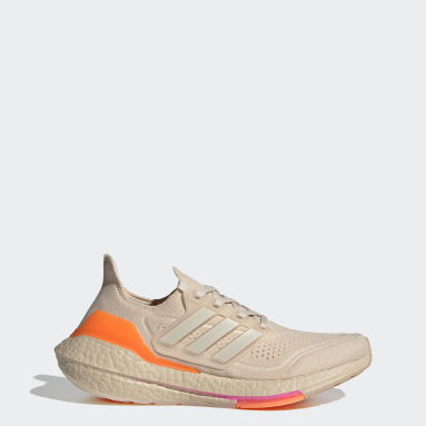 Women's Running Beige Ultraboost 21 Shoes