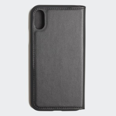 Originals Zwart Basic Logo Booklet Case iPhone X