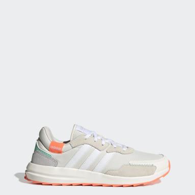 Frauen Running Retrorun Schuh Weiß