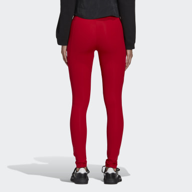 Women's Y-3 Red Y-3 Classic Tights