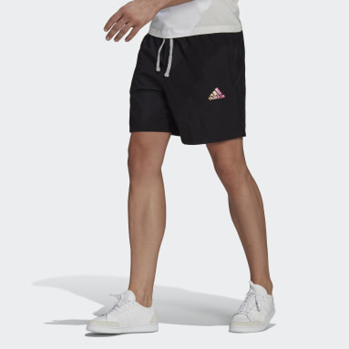 Short Essentials Gradient Logo noir Hommes Sport Inspired