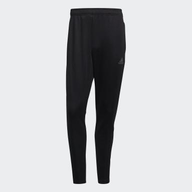 Men Football Black Tiro Track Pants