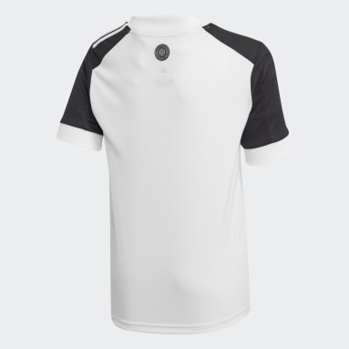 Kids Football White Fulham FC 20/21 Home Jersey