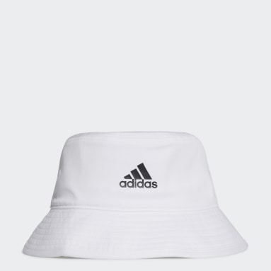Training White Cotton Bucket Hat