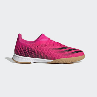 Children Soccer Pink X Ghosted.3 Indoor Shoes