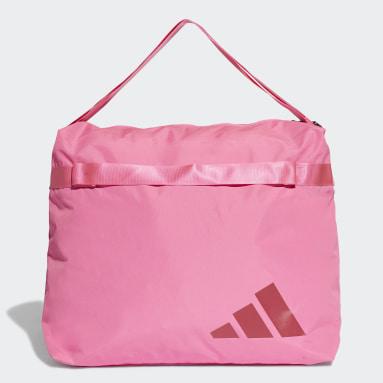 Women Training Pink Oversize Tote Bag