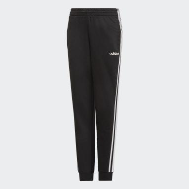 Pantalón Essentials 3 Tiras Negro Niña Training